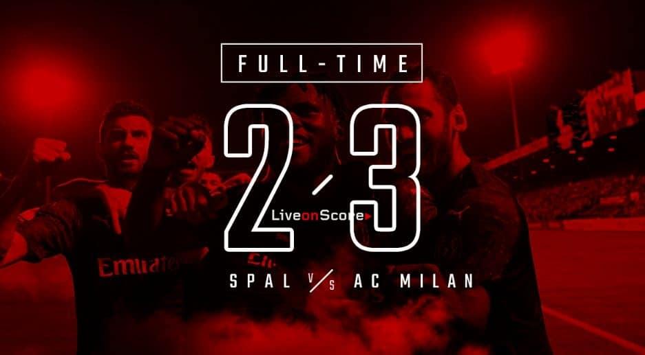 SPAL 2-3 Milan Full Highlight Video – Serie Tim A 2019