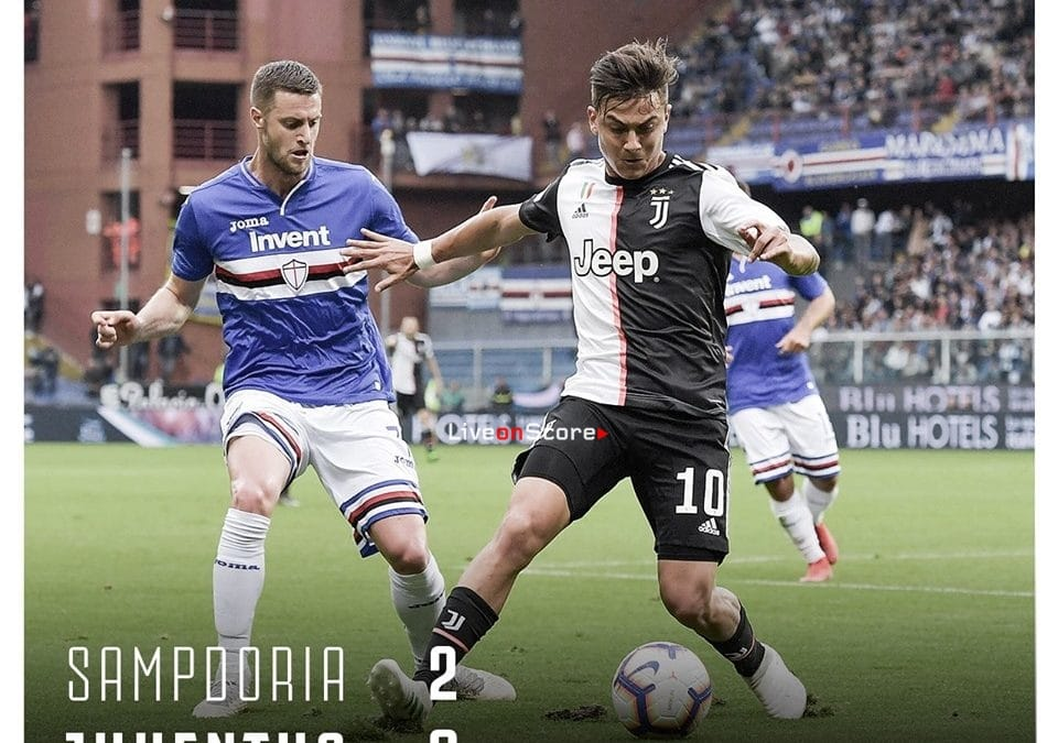 Sampdoria 2-0 Juventus Full Highlight Video – Serie Tim A 2019