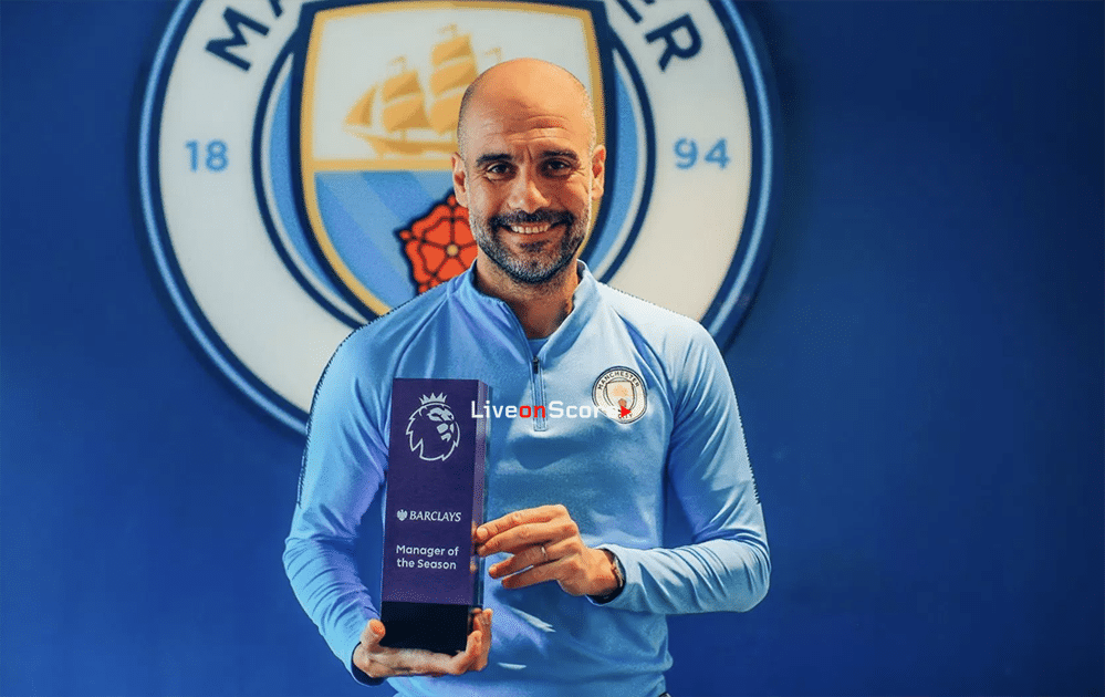 Guardiola named Barclays Manager of the Season