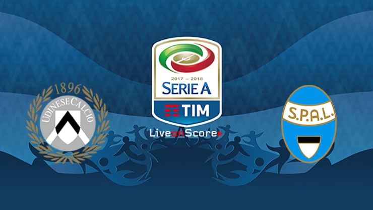 Udinese vs Spal Preview and Prediction Live stream Serie Tim A  2019