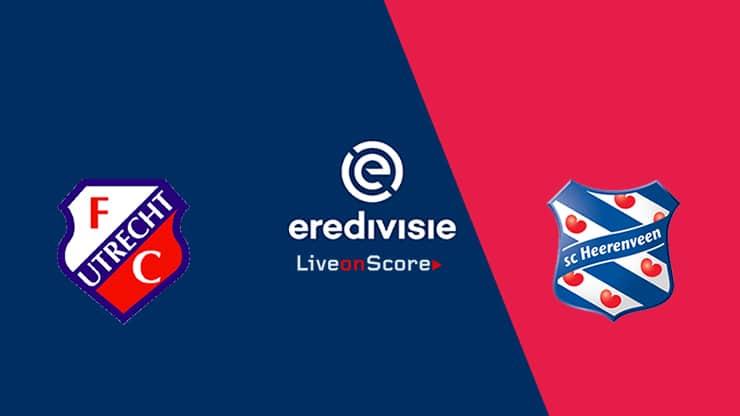 Utrecht vs Heerenveen Preview and Prediction Live stream – Eredivisie 2019