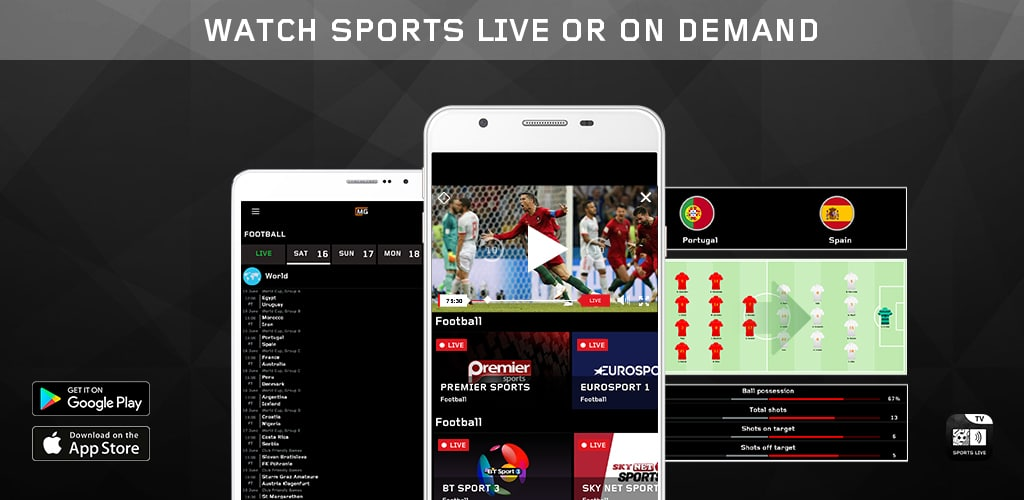 All Sports TV Livestream - MNG Sport Television iOS/Android Mobile App