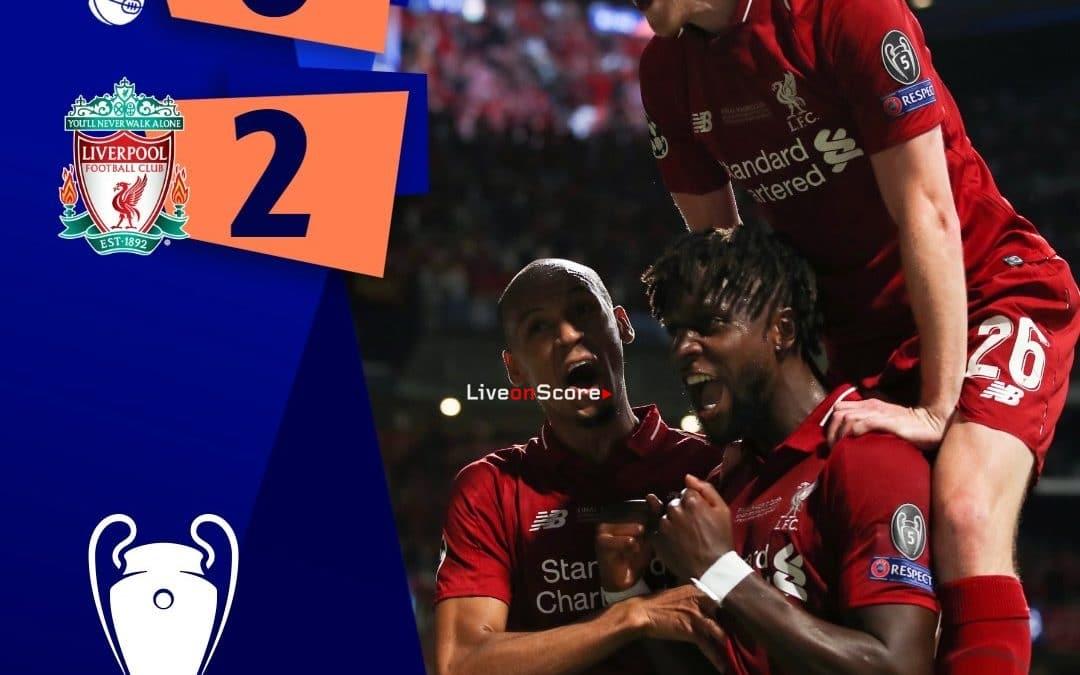 Tottenham 0-2 Liverpool Full Highlight Video – Uefa Champions League Final 2019