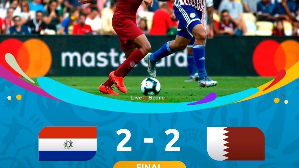 Paraguay 2-2 Qatar Full Highlight Video – Copa America 2019