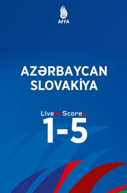 Azerbaijan 1-5 Slovakia Full Highlight Video – Euro 2020 Qualification