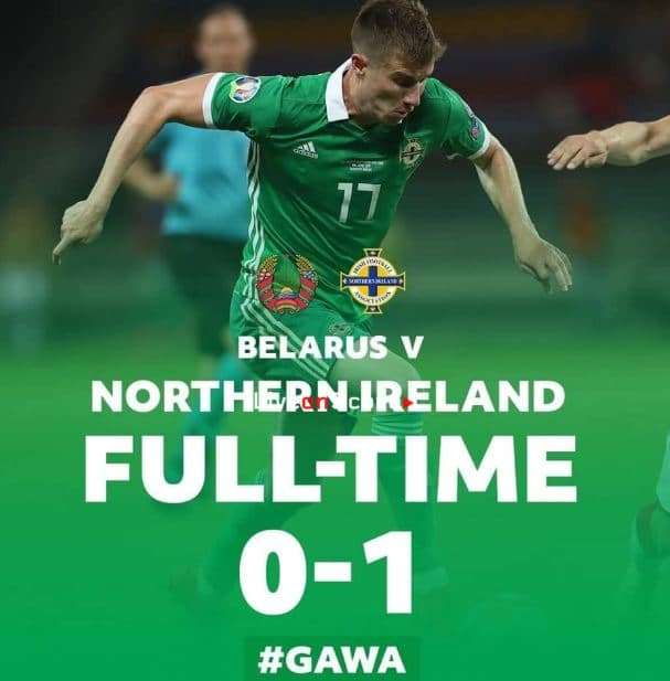 Belarus 0-1 N.Ireland Full Highlight Video – Euro 2020 Qualification