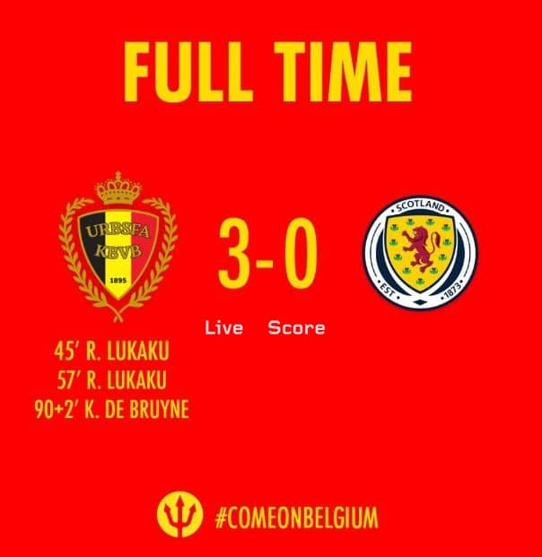 Belgium 3-0 Scotland Full Highlight Video – Euro 2020 Qualification