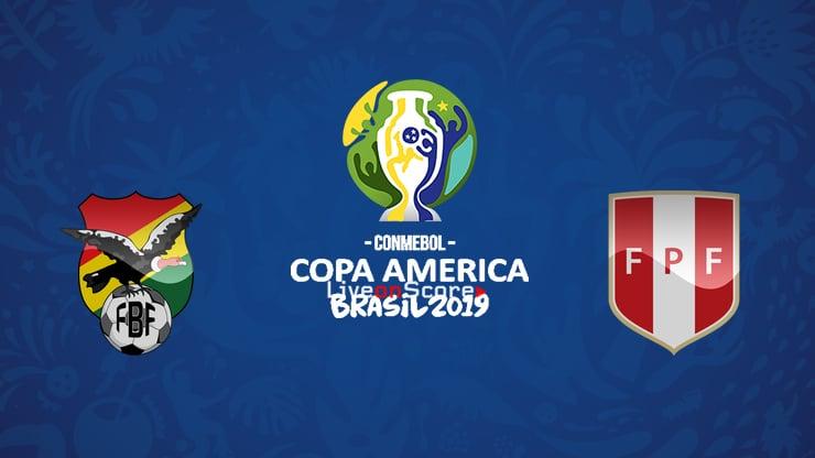 Bolivia vs Peru Preview and Prediction Live stream – Copa America  2019