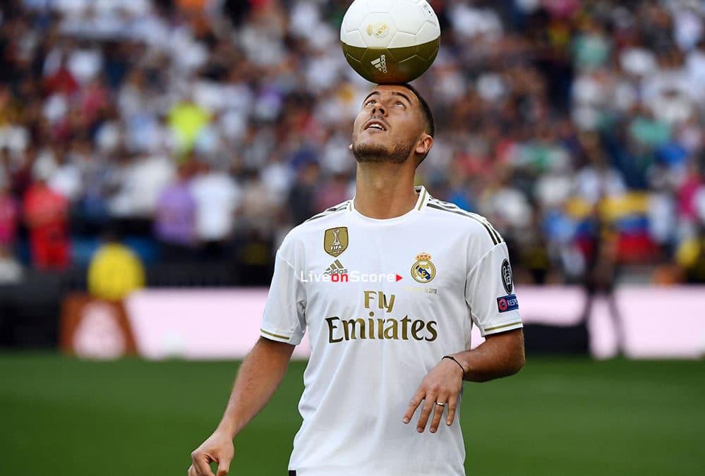 Real Madrid welcome brilliant Eden Hazard