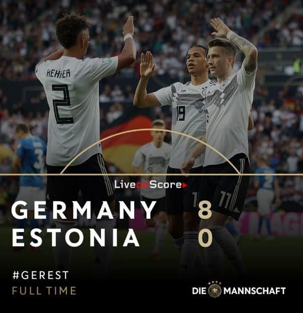 Germany 8-0 Estonia Full Highlight Video – Euro 2020 Qualification