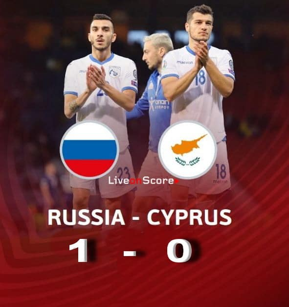 Russia 1-0 Cyprus Full Highlight Video – Euro 2020 Qualification