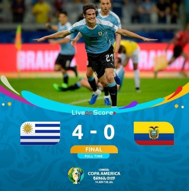 Uruguay 4-0 Ecuador Full Highlight Video – Copa America 2019