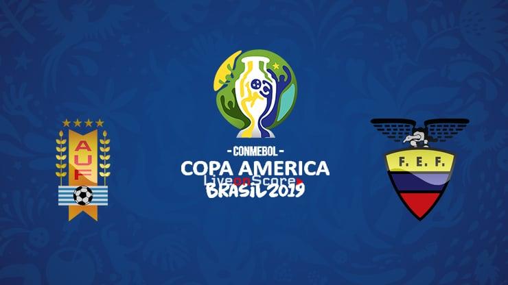 Uruguay vs Ecuador Preview and Prediction Live stream – Copa America  2019