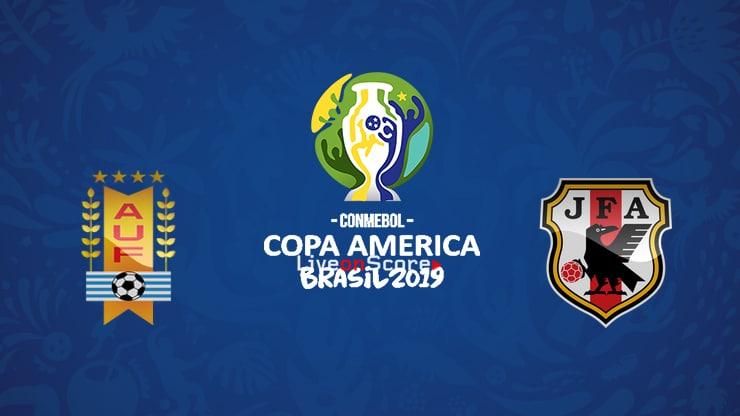 Uruguay vs Japan Preview and Prediction Live stream – Copa America  2019