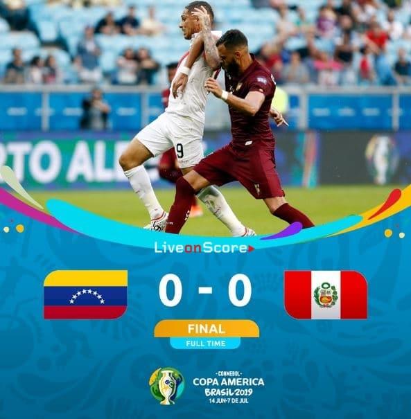 Venezuela 0-0 Peru Full Highlight Video – Copa America 2019