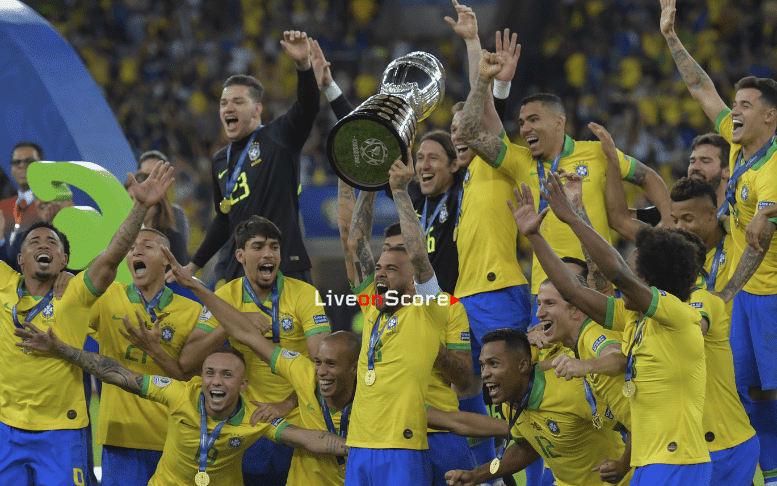 Brazil won its ninth title and is close to the biggest winners