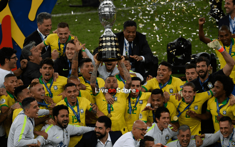 Brazil defeated Peru 3-1 and is the new champion
