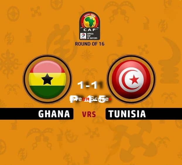 Ghana 1-1(P4-5) Tunisia Full Highlight Video – Africa Cup of Nations 2019