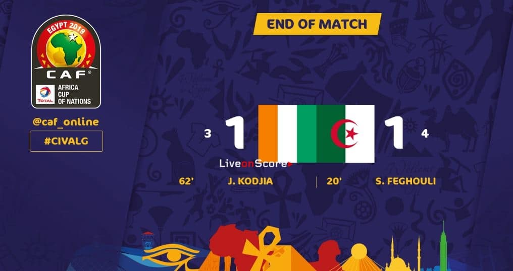 Ivory Coast 1-1(P3-4) Algeria Full Highlight Video – Africa Cup of Nations 2019