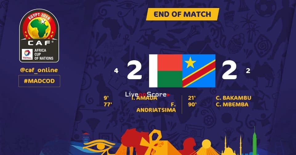 Madagascar 2-2 (P4-2) DR Congo Full Highlight Video – Africa Cup of Nations 2019
