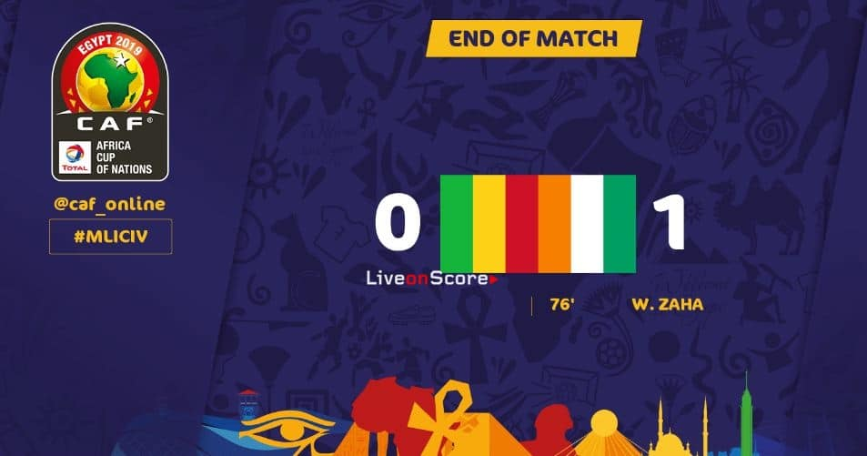 Mali 0-1 Ivory Coast Full Highlight Video – Africa Cup of Nations 2019