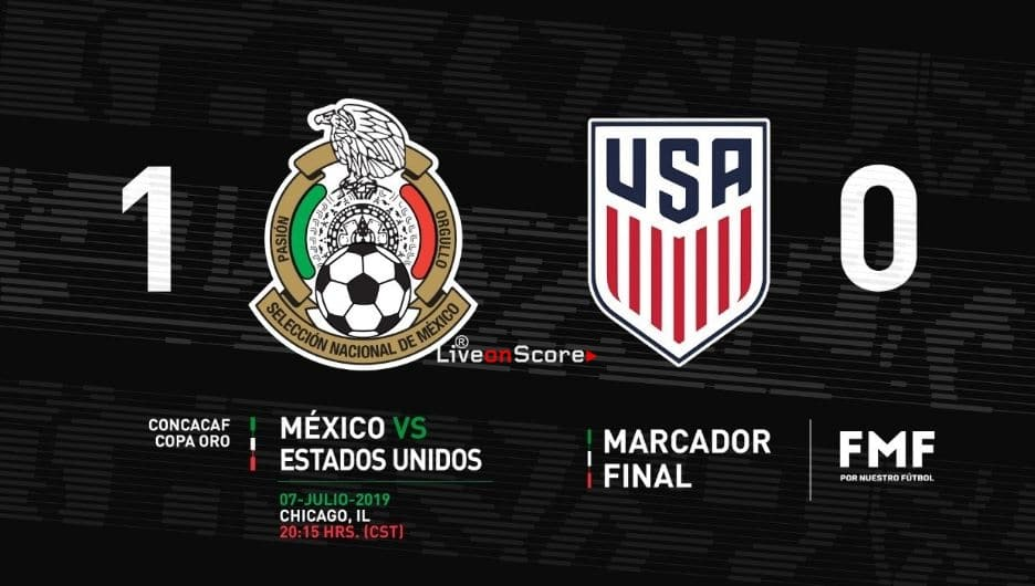 Mexico 1-0 USA Full Highlight Video – Concacaf Gold Cup 2019