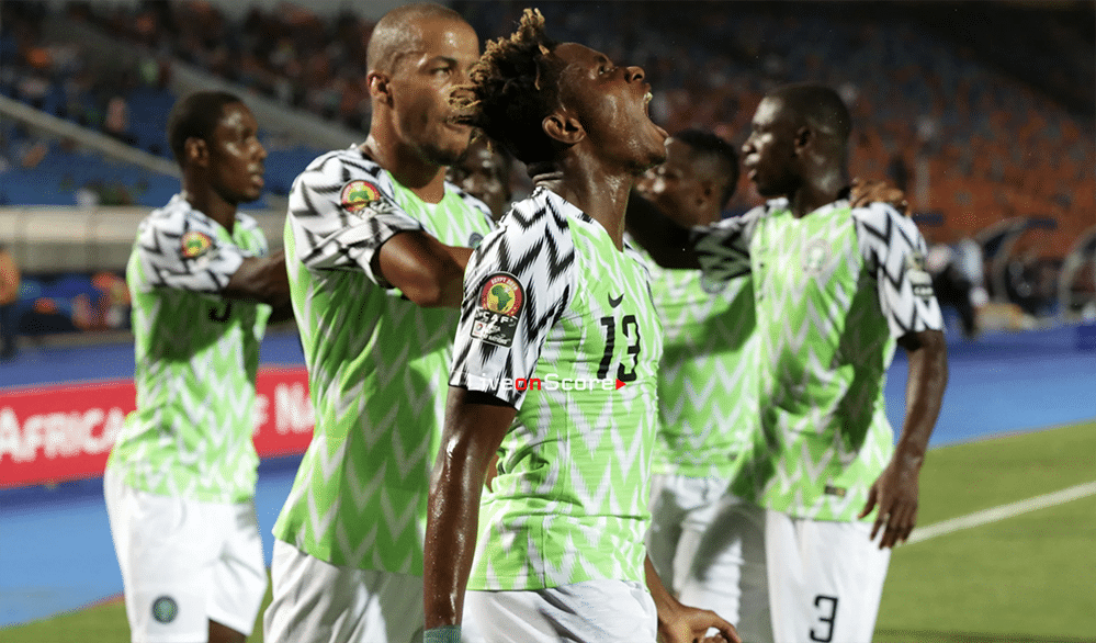 Nigeria to the semis beating South Africa in Cairo