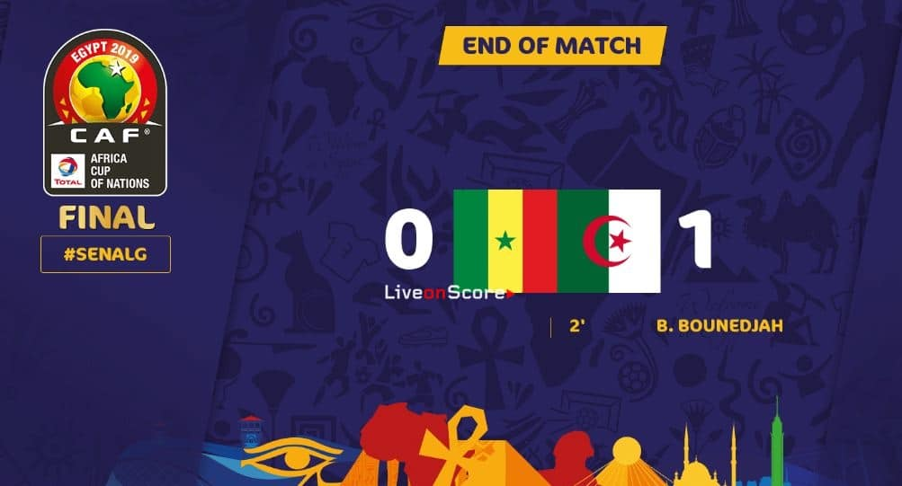 Senegal 0-1 Algeria Full Highlight Video – Africa Cup of Nations 2019