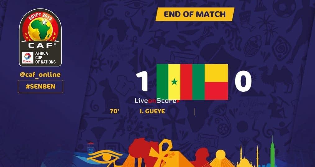 Senegal 1-0 Benin Full Highlight Video –  Africa Cup of Nations 2019