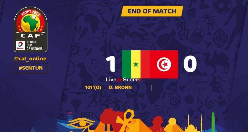 Senegal 1-0 Tunisia (AET) Full Highlight Video – Africa Cup of Nations 2019