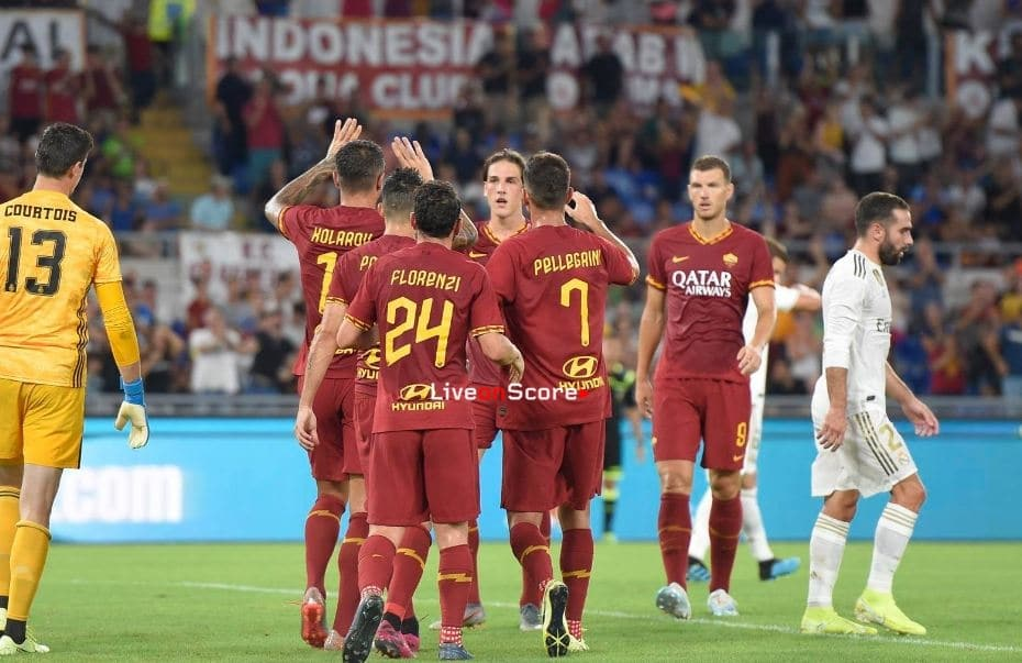 AS Roma 2-2 Real Madrid (P5-4) Full Highlight Video –  Club Friendly 2019
