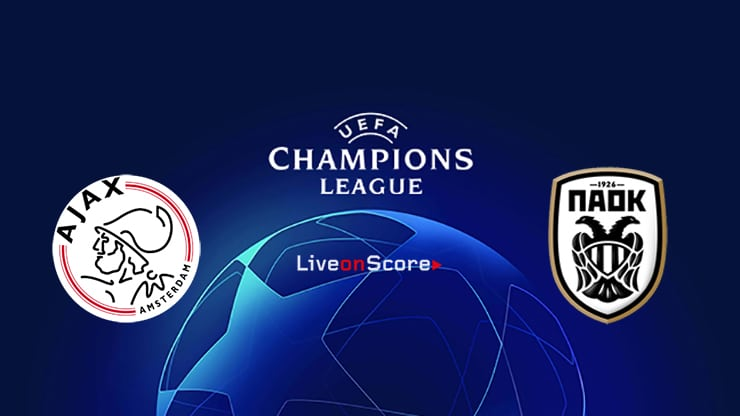 Ajax vs PAOK Preview and Prediction Live Stream Champions League – Qualification 2019/20