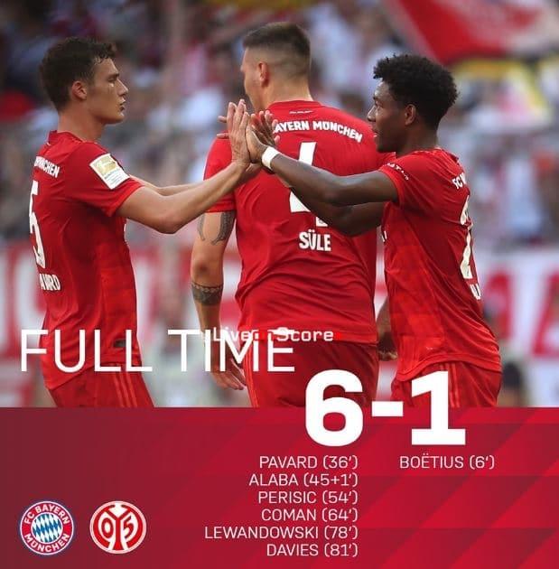 Mainz Bayern 2021
