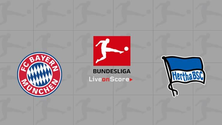 Bayern Munich vs Hertha Berlin Preview and Prediction Live stream Bundesliga 2019/2020
