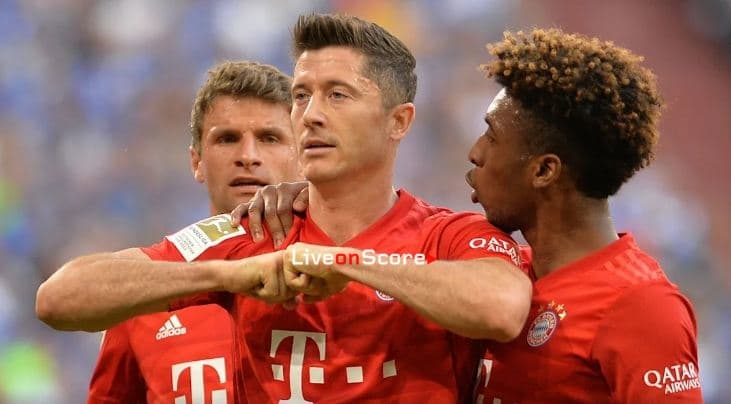 Lewy was unstoppable for Schalke
