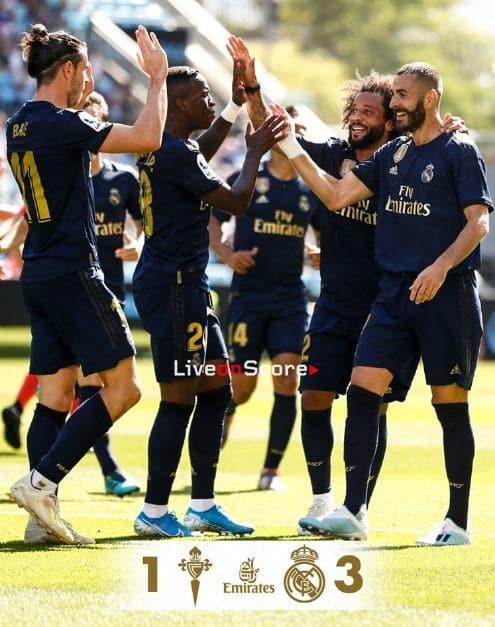 Celta Vigo 1 3 Real Madrid Full Highlight Video Laliga Santander