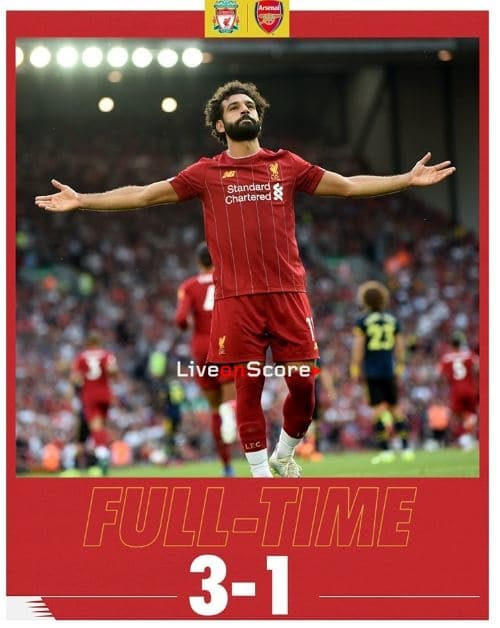 Liverpool 3-1 Arsenal Full Highlight Video – Premier League