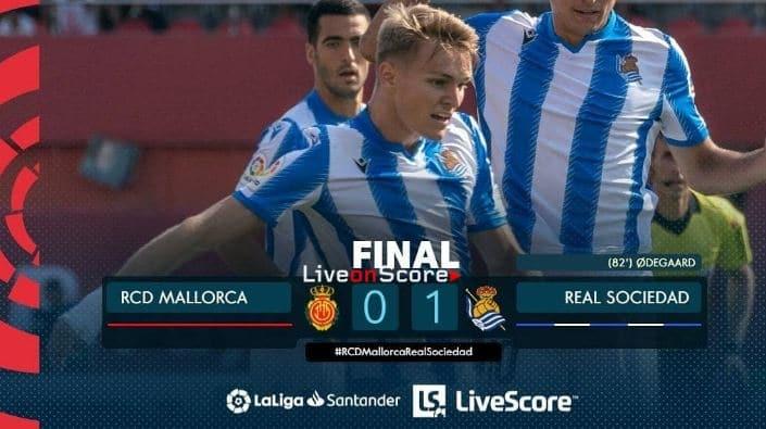 Mallorca 0-1 Real Sociedad Full Highlight Video – LaLiga Santander