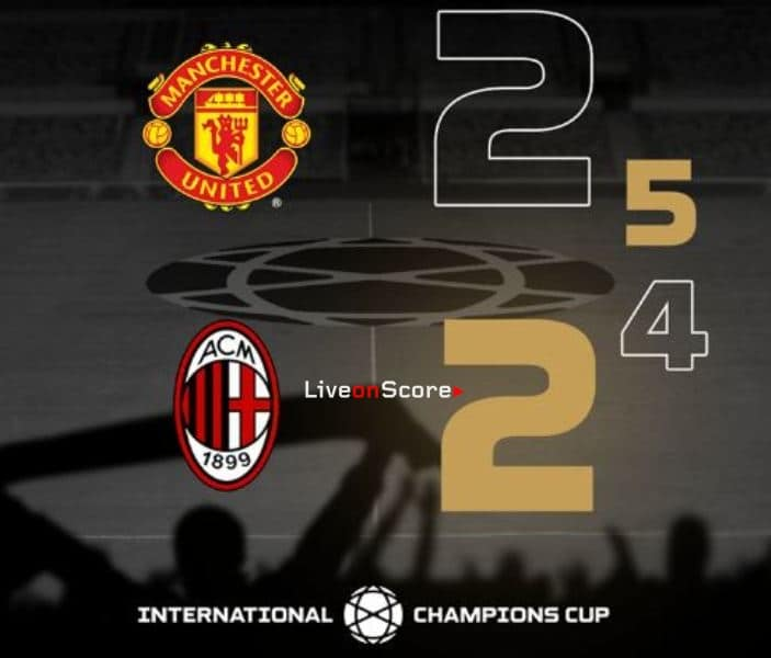 Manchester United 2-2 AC Milan (P5-4) Full Highlight Video – International Champions Cup 2019