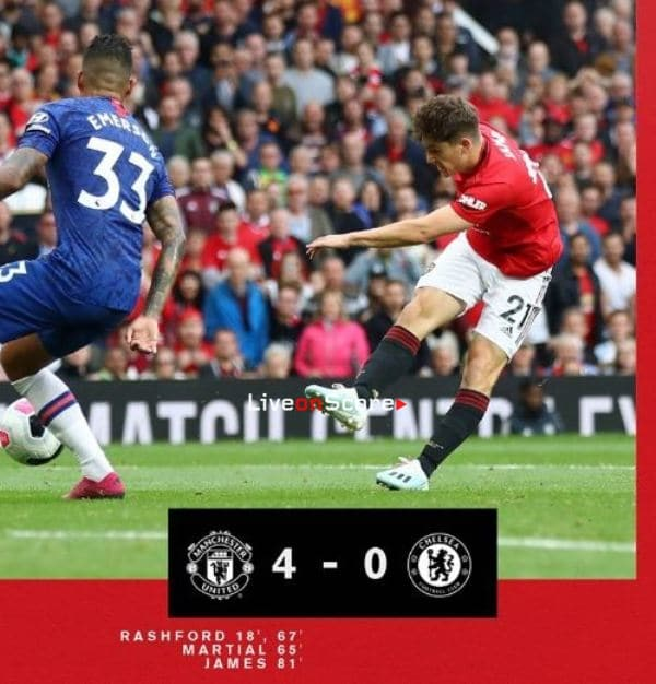 Manchester United 4-0 Chelsea Full Highlight Video – Premier League