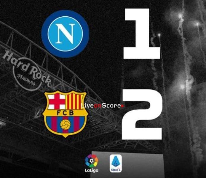 Napoli 1-2 Barcelona Full Highlight Video – International Champions Cup 2019