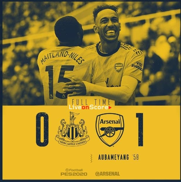 Newcastle United 0-1 Arsenal Full Highlight Video – Premier League