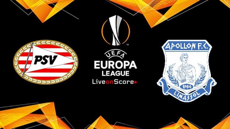 PSV vs Apollon Preview and Prediction Live stream Europa League – Qualification