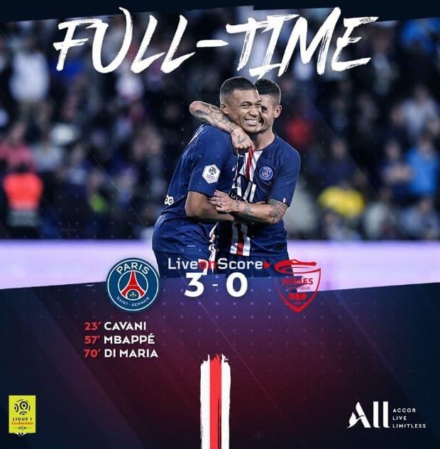 Paris Sg 3 0 Nimes Full Highlight Video France Ligue 1