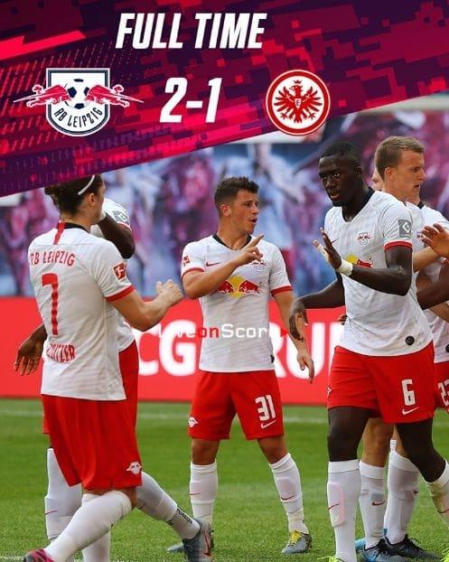 RB Leipzig 2-1 Eintracht Frankfurt Full Highlight Video – Bundesliga