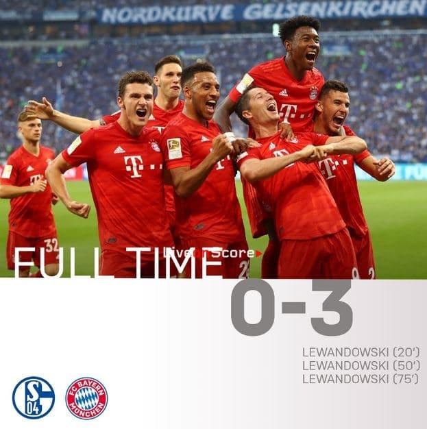 Schalke 04 0-3 FC Bayern München Full Highlight Video – Bundesliga