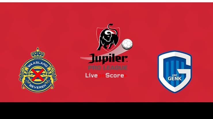 Waasland-Beveren vs Genk Preview and Prediction Live stream Jupiler League 2019/2020