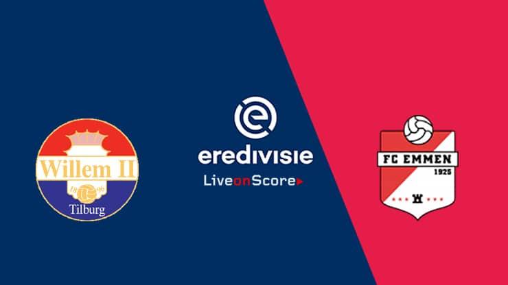 Willem II vs FC Emmen Preview and Prediction Live stream – Eredivisie 2019/2020