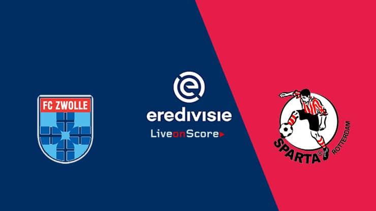 Zwolle vs Sparta Rotterdam Preview and Prediction Live stream – Eredivisie 2019/2020