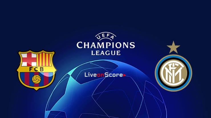 Barcelona vs Inter Preview and Prediction Live stream UEFA Champions League 2019/2020